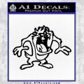 Taz Decal Sticker Black D1 Tasmanian Devil Vinyl 120x120