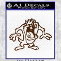 Taz Decal Sticker D1 Tasmanian Devil Brown Vinyl 120x120