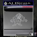 Taz Decal Sticker D1 Tasmanian Devil Grey Vinyl 120x120