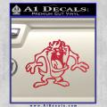 Taz Decal Sticker D1 Tasmanian Devil Red Vinyl 120x120