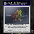 Taz Decal Sticker D1 Tasmanian Devil Spectrum Vinyl 120x120