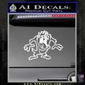 Taz Decal Sticker D1 Tasmanian Devil White Vinyl 120x120