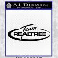 Team Realtree Decal Sticker Black Vinyl 120x120