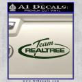 Team Realtree Decal Sticker Dark Green Vinyl 120x120