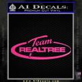 Team Realtree Decal Sticker Neon Pink Vinyl 120x120