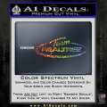 Team Realtree Decal Sticker Spectrum Vinyl 120x120