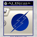 The Flash ALT Decal Sticker Blue Vinyl 120x120