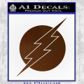 The Flash ALT Decal Sticker Brown Vinyl 120x120