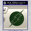 The Flash ALT Decal Sticker Dark Green Vinyl 120x120