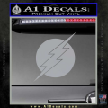 The Flash ALT Decal Sticker Grey Vinyl 120x120