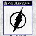 The Flash Decal Sticker Black DH Vinyl 120x120