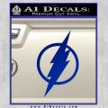 The Flash Decal Sticker DH Blue Vinyl 120x120
