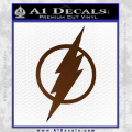 The Flash Decal Sticker DH Brown Vinyl 120x120
