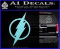 The Flash Decal Sticker DH Light Blue Vinyl 120x97