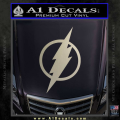 The Flash Decal Sticker DH Metallic Silver Vinyl 120x120