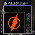 The Flash Decal Sticker DH Orange Emblem 120x120