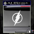 The Flash Decal Sticker DH White Vinyl 120x120