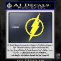 The Flash Decal Sticker DH Yellow Vinyl 120x120