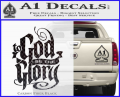 To God Be The Glory Decal Sticker CFB Vinyl 120x97