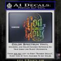 To God Be The Glory Decal Sticker Spectrum Vinyl 120x120