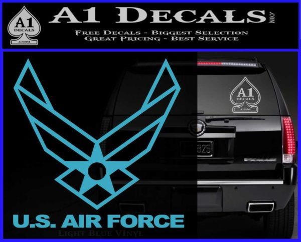 Usaf Air Force Decal Sticker Dh Wings 187 A1 Decals