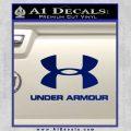 Under Armor Decal Sticker Full Blue Vinyl 120x120