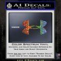 Under Armor Logo Decal Sticker Glitter Sparkle 120x120