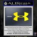 Under Armor Logo Decal Sticker Yellow Laptop 120x120