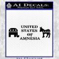 United States Of Amnesia D2 Decal Sticker Black Vinyl 120x120