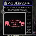 United States Of Amnesia D2 Decal Sticker Pink Emblem 120x120