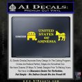 United States Of Amnesia D2 Decal Sticker Yellow Laptop 120x120