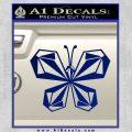 Volcom Butterfly Decal Sticker Blue Vinyl 120x120