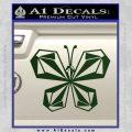 Volcom Butterfly Decal Sticker Dark Green Vinyl 120x120