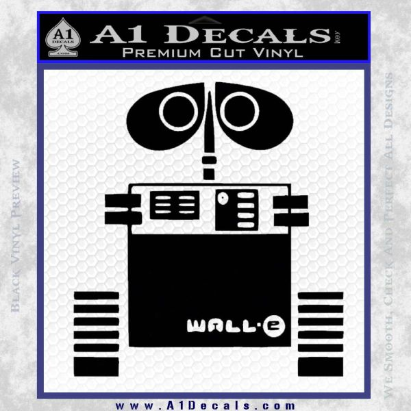 Wall E D1 Decal Sticker 187 A1 Decals