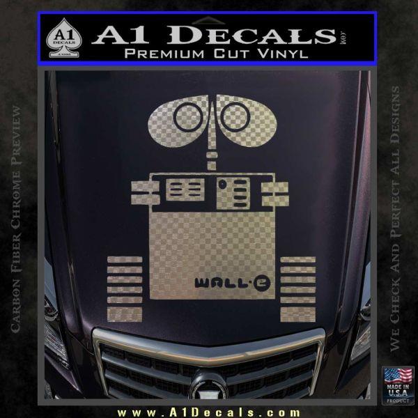 wall e d1 decal sticker 187 a1 decals wall e 1 classic round sticker zazzle