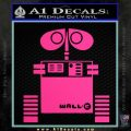 Wall e D1 Decal Sticker Pink Hot Vinyl 120x120
