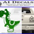 Yoshi Decal Sticker Green Vinyl Logo 120x120
