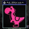Yoshi Decal Sticker Pink Hot Vinyl 120x120