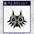 Zelda Majora Mask Decal Sticker Black Vinyl 120x120