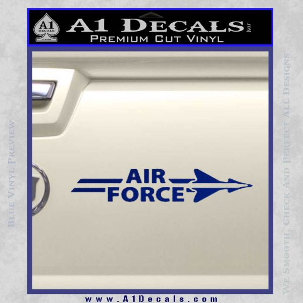 Airforce Air Force W Decal Sticker 187 A1 Decals