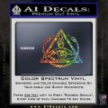All Seeing Eye Order Of The Triad D1 Decal Sticker Glitter Sparkle 120x120