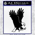 American Eagle Decal Sticker Black Vinyl 120x120