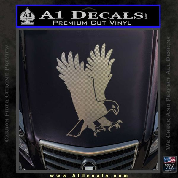 Car Decal Per Sticker Trailer Eagle And American Flag Png Clipart