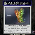 American Eagle Decal Sticker Glitter Sparkle 120x120