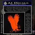 American Eagle Decal Sticker Orange Emblem 120x120