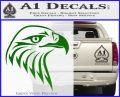 American Eagle Decal Sticker Sharp Green Vinyl Logo 120x97