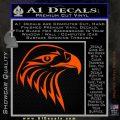 American Eagle Decal Sticker Sharp Orange Emblem 120x120