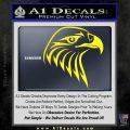 American Eagle Decal Sticker Sharp Yellow Laptop 120x120