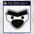 Angry Birds Close D1 Decal Sticker Black Vinyl 120x120