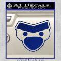 Angry Birds Close D1 Decal Sticker Blue Vinyl 120x120